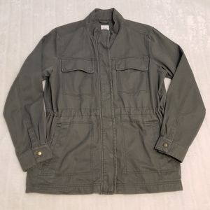 BOGO Free🦋 GAP Army Green Military Style Utility Jacket